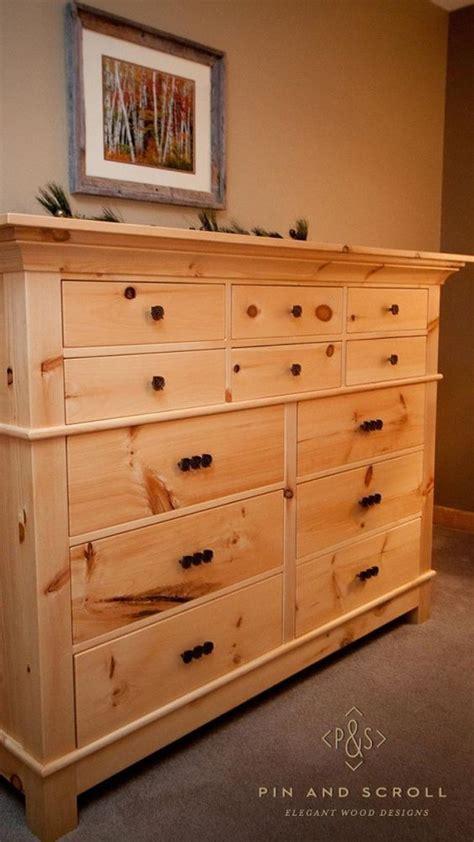 bedroom dresser set rustic pine bedroom set large knotty pine dresser 02 10422 | eb6c68e2af00b88ff9a20432f78132c6