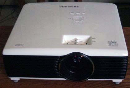 samsung sp fm led  lcd multimedia projector review