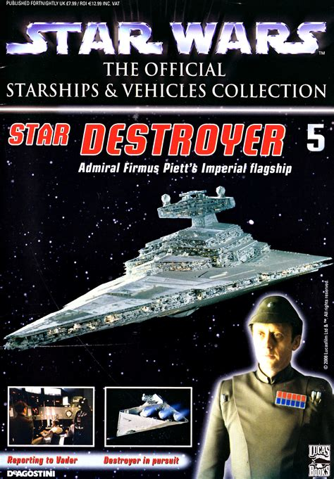 star wars  official starships vehicles collection