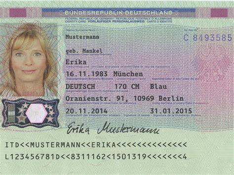 personalausweis ausstellung