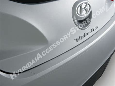 hyundai santa fe rear bumper applique