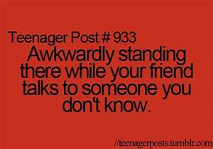 awkward, girl, relationship, stuff, teenager posts | funny ...
