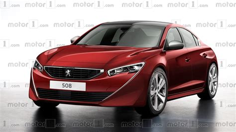 Peugeot News by 2018 Peugeot 508 Render Is Simply Gorgeous