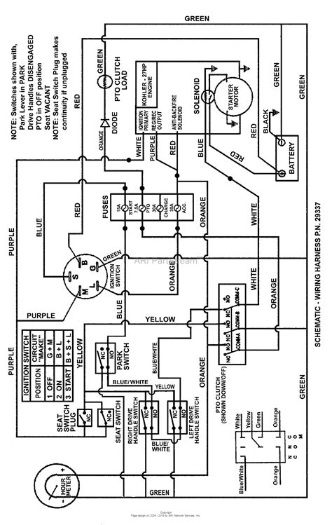 Kohler 10 Hp Wiring Diagram by Kohler Command 20 Hp Wiring Diagram Scotts Mower