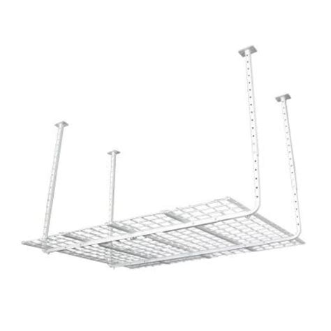 Hyloft Ceiling Storage Unit Home Depot by Hyloft 60 In X 45 In Adjustable Height Ceiling Storage