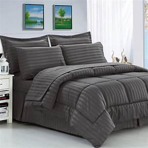 andover mills haliburton 8 piece reversible comforter set With 8 piece bedroom furniture sets