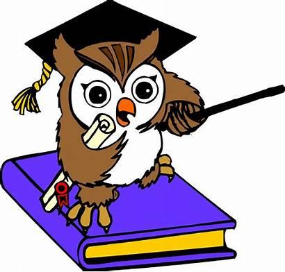 Owl Clipart Cartoon Wise Clipartpanda Education Clip