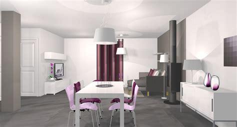chambre gris et aubergine architecte d intérieur eure et loir 28 mh deco le