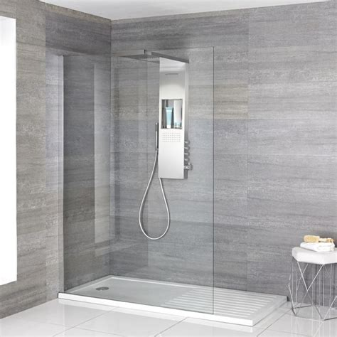 Walk In Shower Materials by Vaso Complete Walk In Shower Enclosure With Walk