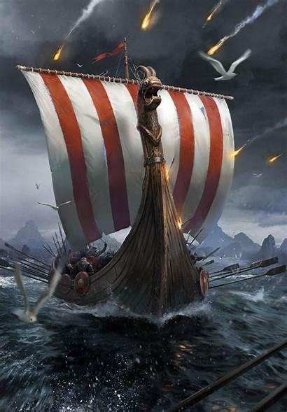 Drakkar War Viking Skellige Witcher Tattoo Vikings