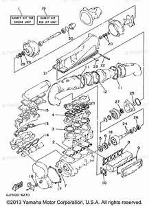 Yamaha Waverunner 1996 Oem Parts Diagram For Repair Kit 1