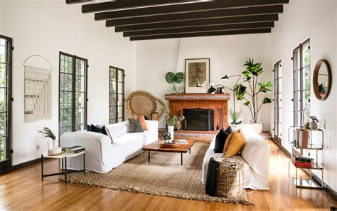 spacious spanish revival home  la
