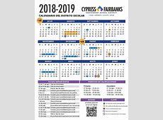 CypressFairbanks Independent School District Junta