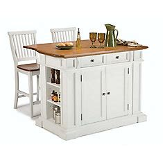 kitchen island home depot canada home styles kitchen island with two stools white the 8182