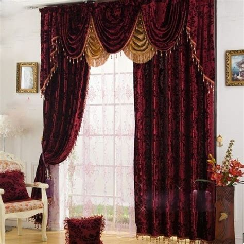 ideas  burgundy curtains  pinterest grey