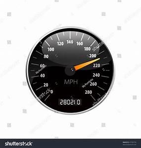 Speedometer Vector Illustration - 41763799 : Shutterstock
