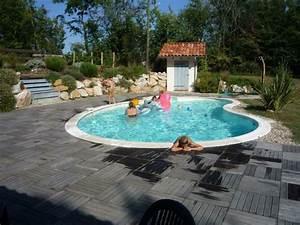 jolie piscine carre acier pas cher With petite piscine rectangulaire gonflable 15 piscine hors sol acier metal ou bois images arts et
