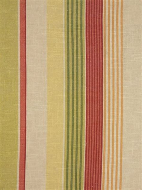 phoebe printed vertical stripe linen custom made curtains