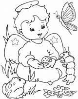 Angel Coloring Pages Angels Printable Para sketch template
