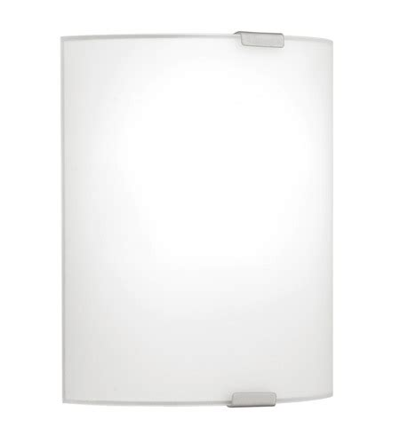 eglo grafik 1 light wall light in chrome 84028a