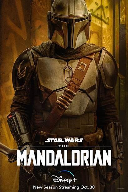 Mandalorian Season Poster Posters Character Disney Deadline