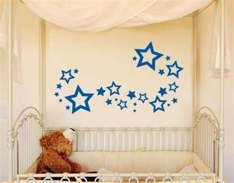 Kinderzimmer Wandgestaltung Himmel by Wandtattoo Sterne Set Kinderzimmer