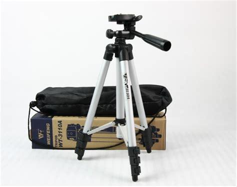 jual lensa pembesar kamera hp 8x tele zoom weifeng tripod