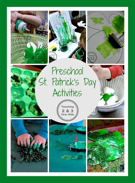 st s day ideas teaching 2 and 3 year olds 718 | st patricks day header