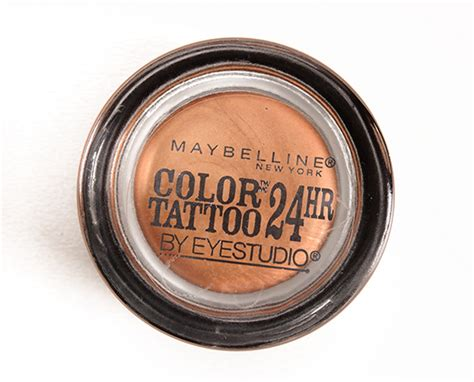 Maybelline Dare To Go Nude Color Tattoo Eyeshadows Reviews