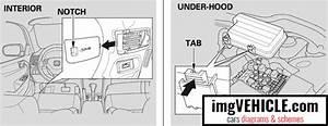 Honda Accord Vii Usa Fuse Box Diagrams  U0026 Schemes