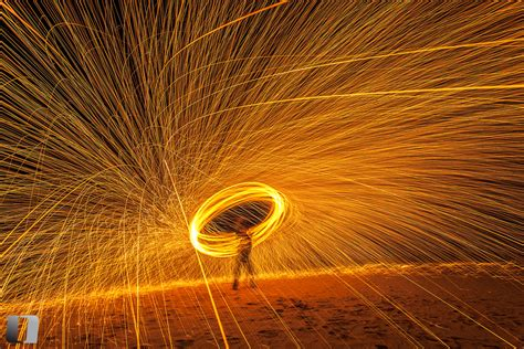 light painting  steel wool lee duguid photography