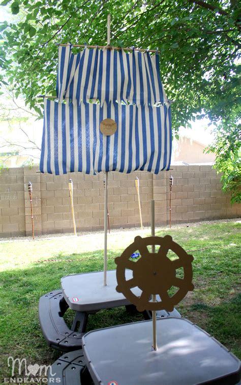 diy pirate mast sails fun family crafts