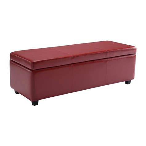 large square storage ottoman simpli home axcf18 avalon large rectangular storage