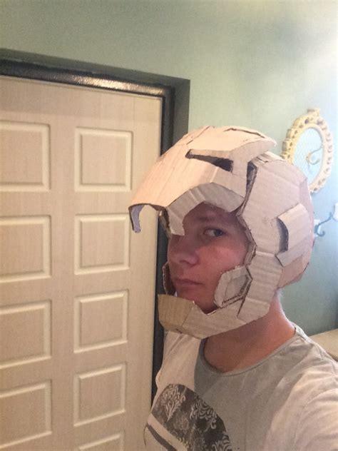 cardboard iron man helmet  armor iron man helmet shop