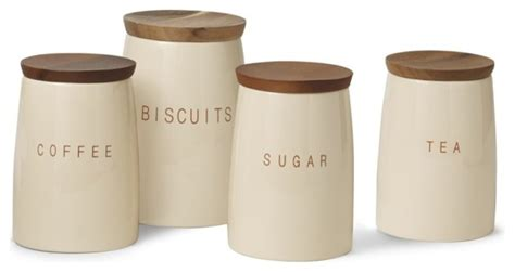 Kitchen Canisters And Jars