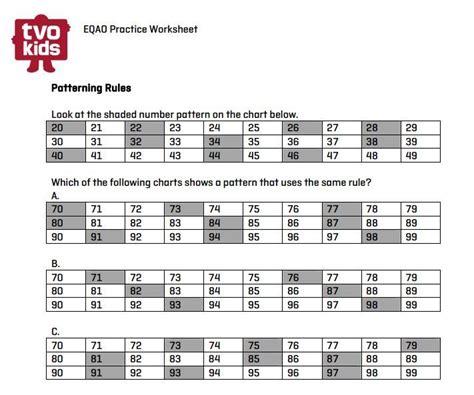 eqao worksheets for grade 3 math grade 3 math finding