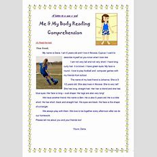 Parts Of The Body In A Reading Test Worksheet  Free Esl Printable Worksheets Made By Teachers