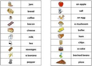 vocabulaire anglais cuisine food classe de cm1 cm2