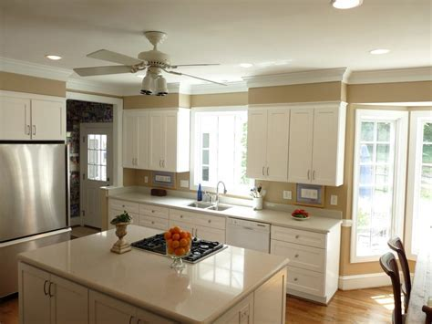 crown molding soffit ideas kitchen traditional with stools