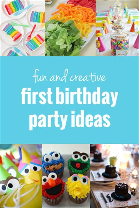 tag theme ideas for 1st birthday party for boy and creative birthday party ideas