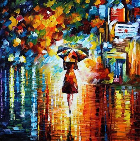 the fusion of colors in leonid afremov s nostalgic paintings bored panda