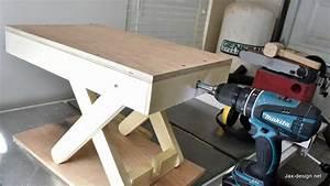 Jax Design: How to Make a Scissor Lift Table