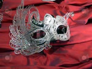 Elegant Mask Stock Photo