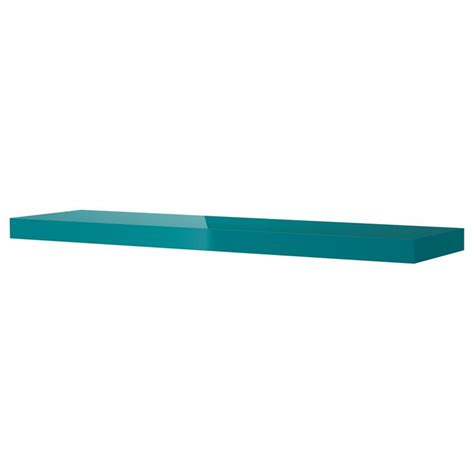lack 201 tag 232 re murale brillant turquoise ikea inspiration bleu wall shelves