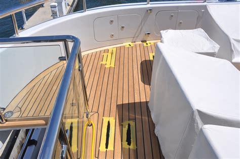 teak decking repair  kisses teak techs marine carpentry