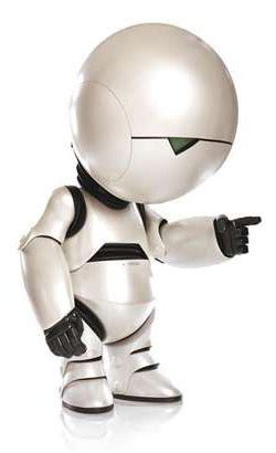 marvin the paranoid android shiny gallery the top twelve robots of the screen