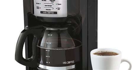 12 cup coffee maker (sold separately) caution: Mr. Coffee 12-Cup Programmable Coffeemaker #BVMC-EHX23 Review