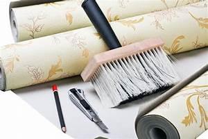 Raufaser Zum Streichen : tapezieren und streichen wie geht man nacheinander vor ~ Lizthompson.info Haus und Dekorationen