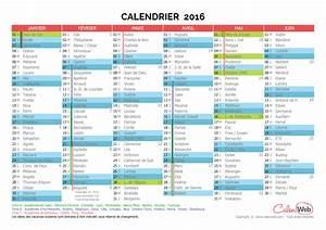 Vacances Scolaires Corse 2016 : calendrier semestriel ann e 2016 avec jours f ri s vacances scolaires et f tes du jour ~ Melissatoandfro.com Idées de Décoration