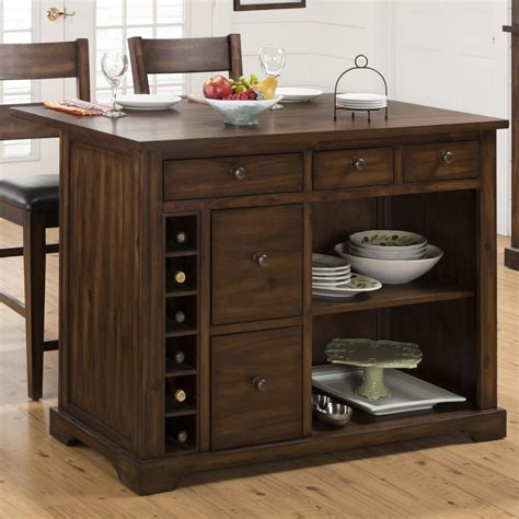 kitchen islands with storage jofran expandable drop leaf kitchen island with wine 5283